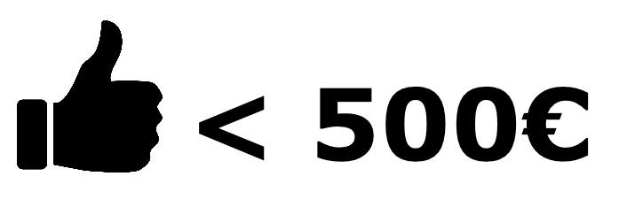 Spiegelreflexkamera unter 500€