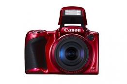 Canon PowerShot SX410 IS Digital Kamera (7,6 cm (3,0 Zoll) Display, 20 Megapixel, 40-fach opt. Zoom, HDMI Mini, USB 2.0) rot - 1