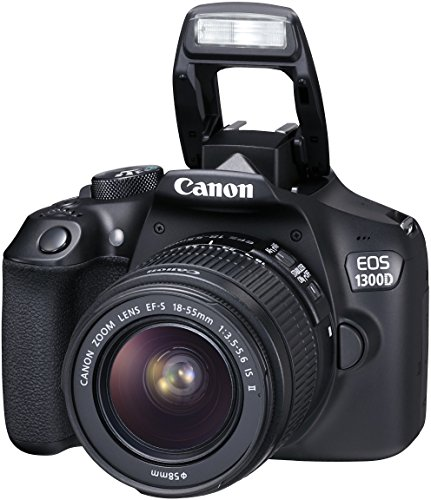 Canon EOS 1300D Digitale Spiegelreflexkamera (18 Megapixel, APS-C CMOS-Sensor, WLAN mit NFC, Full-HD) Kit inkl. EF-S 18-55mm IS Objektiv - 13