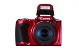 Canon PowerShot SX410 IS Digital Kamera (7,6 cm (3,0 Zoll) Display, 20 Megapixel, 40-fach opt. Zoom, HDMI Mini, USB 2.0) rot - 1