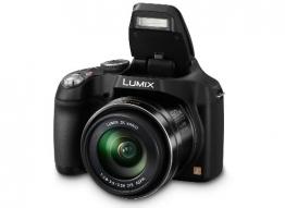 Panasonic LUMIX DMC-FZ72EG-K Premium-Bridgekamera (16,1 Megapixel, 60x opt. Zoom, 7,5 cm LC-Display, elektr. Sucher, Full HD Video) schwarz - 1