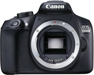 Canon EOS 1300D Digitale Spiegelreflexkamera (18 Megapixel, APS-C CMOS-Sensor, WLAN mit NFC, Full-HD) Kit inkl. EF-S 18-55mm IS Objektiv - 11