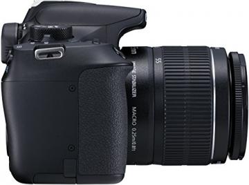 Canon EOS 1300D Digitale Spiegelreflexkamera (18 Megapixel, APS-C CMOS-Sensor, WLAN mit NFC, Full-HD) Kit inkl. EF-S 18-55mm IS Objektiv - 5