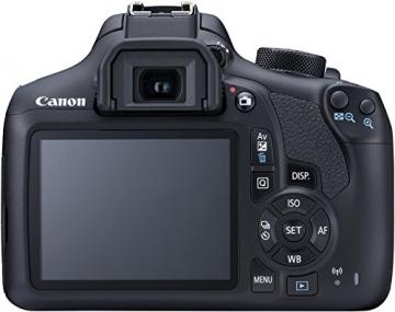 Canon EOS 1300D Digitale Spiegelreflexkamera (18 Megapixel, APS-C CMOS-Sensor, WLAN mit NFC, Full-HD) Kit inkl. EF-S 18-55mm IS Objektiv - 6