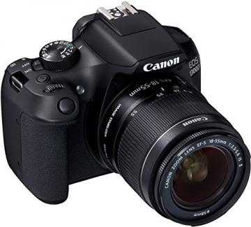Canon EOS 1300D Digitale Spiegelreflexkamera (18 Megapixel, APS-C CMOS-Sensor, WLAN mit NFC, Full-HD) Kit inkl. EF-S 18-55mm IS Objektiv - 7