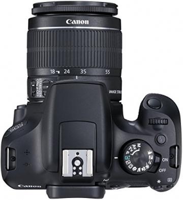 Canon EOS 1300D Digitale Spiegelreflexkamera (18 Megapixel, APS-C CMOS-Sensor, WLAN mit NFC, Full-HD) Kit inkl. EF-S 18-55mm IS Objektiv - 9