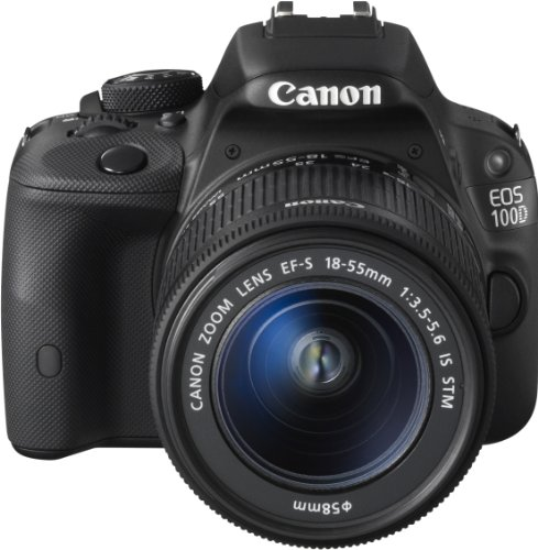Canon EOS 100D SLR-Digitalkamera (18 Megapixel, 7,6 cm (3 Zoll) Touchscreen, Full HD, Live-View) Kit inkl. EF-S 18-55mm 1:3,5-5,6 IS STM - 4