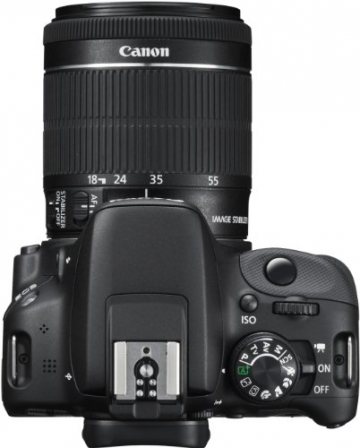 Canon EOS 100D SLR-Digitalkamera (18 Megapixel, 7,6 cm (3 Zoll) Touchscreen, Full HD, Live-View) Kit inkl. EF-S 18-55mm 1:3,5-5,6 IS STM - 8