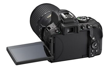 Nikon D5300 SLR-Digitalkamera (24,2 Megapixel, 8,1cm (3,2 Zoll) LCD-Display, Full HD, HDMI, WiFi, GPS, AF-System mit 39 Messfeldern) Kit inkl. AF-S DX 18-55 VR II Objektiv schwarz - 12