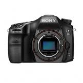 Sony Alpha 68 A-Mount Digitalkamera (24 Megapixel, 6,7 cm (2,7 Zoll) Display, 79-Phasen AF-Messfelder) inkl. SAL-1855 Objektiv schwarz - 1