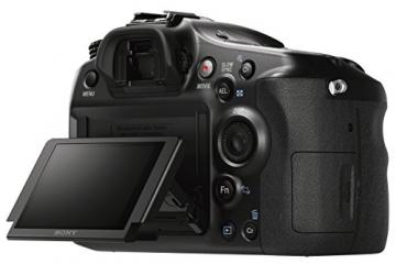 Sony Alpha 68 A-Mount Digitalkamera (24 Megapixel, 6,7 cm (2,7 Zoll) Display, 79-Phasen AF-Messfelder) inkl. SAL-1855 Objektiv schwarz - 10