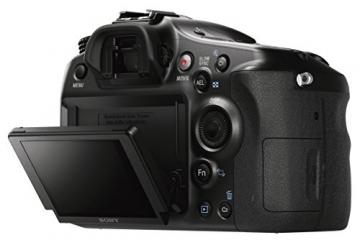 Sony Alpha 68 A-Mount Digitalkamera (24 Megapixel, 6,7 cm (2,7 Zoll) Display, 79-Phasen AF-Messfelder) inkl. SAL-1855 Objektiv schwarz - 11