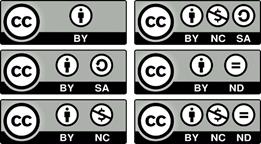 Kennzeichnung cc Lizenz